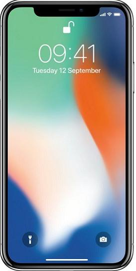 Apple iPhone X 64GB Silver