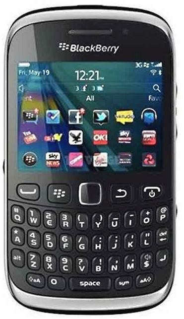 BlackBerry 9320 Curve Black