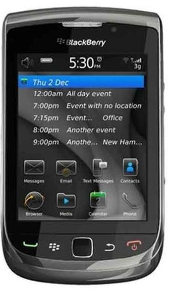 BlackBerry 9800 Torch Black