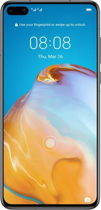 Huawei P40 8GB/128GB Black EU