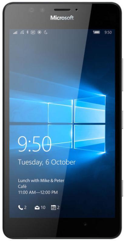 Microsoft Lumia 950 Single SIM Black