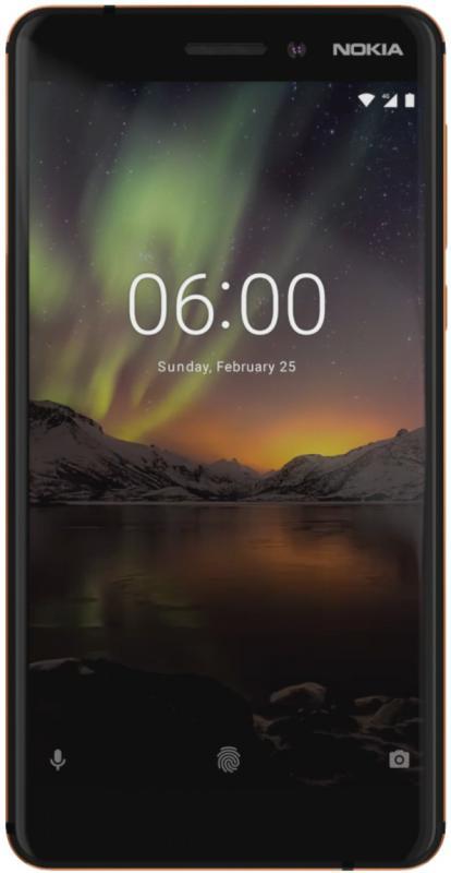 Nokia 6.1 Dual SIM Black/Copper