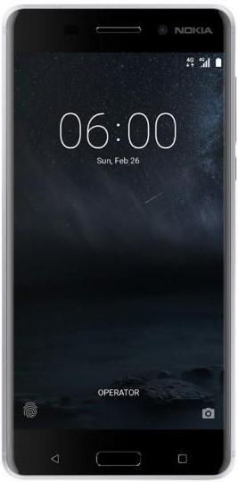 Nokia 6 Dual SIM White Silver