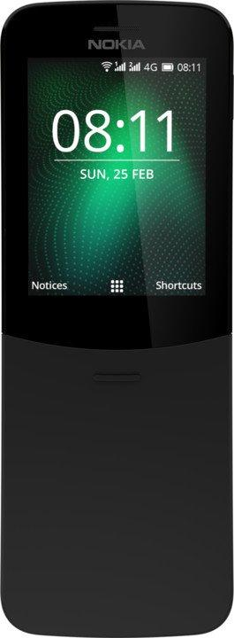 Nokia 8810 4G Dual SIM Black