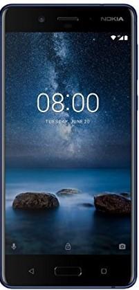 Nokia 8 Single SIM Steel