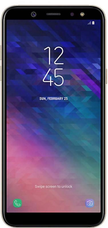 Samsung Galaxy A6 Duos Gold