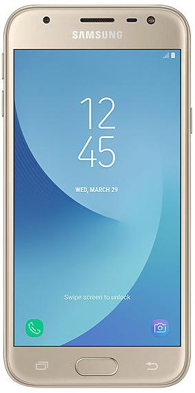 Samsung Galaxy J3 (2017) Single SIM Gold